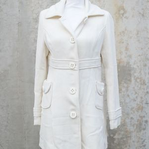 Nordstrom | Sugarfly White Trench Coat